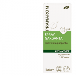 AROMAFORCE. SPRAY GARGANTA. SUAVIZA LA GARGANTA